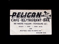 Pelican Bar card, Shanghai, advertising beautiful girls of service