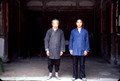 Two generations of Daoists; the middle age generation is missing