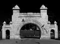 Cypress Lawn Cemetery archway