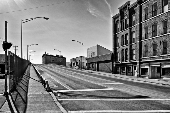 Disaggregated spaces - looking south on Chenango Street towards Lewis Street II