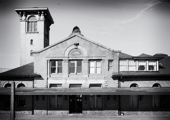 The Lackawanna Station, designed and build in 1900 by Samuel Huckel Jr.