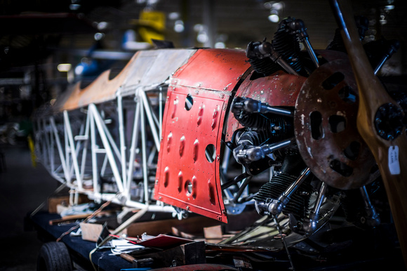 Curtiss Museum workshop
