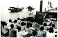 Conducting class on boats for the sons and daughters of fishermen's families on Hainan Island